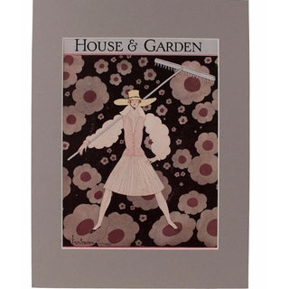 1927 House & Garden Print by Georges Lepage