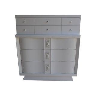 Mid-Century Freshly Painted Dresser