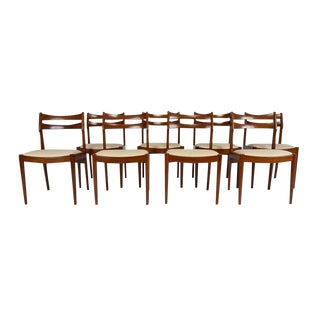 Danish Mid-Century Modern Dining Chairs - Set of 8