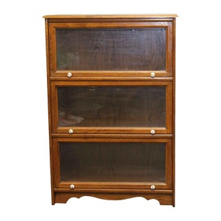 Oak Three Shelve Bookcase