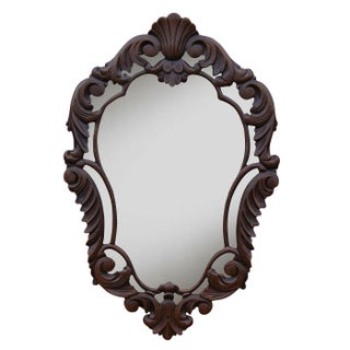 French Curved Wall Mirror