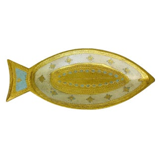 Florentine Gilt Wood Fish Tray