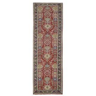 Vintage Persian Tabriz Rug - 3'2''x14'2''