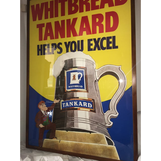 Original English Whitbred Tankard Ales Poster - Image 5 of 11