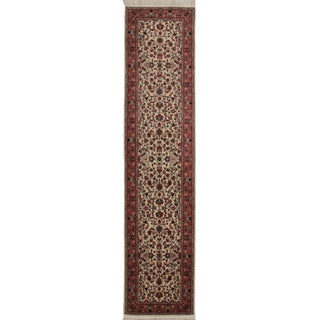 RugsinDallas Persian Hand Knotted Wool Rug - 2′6″ × 11′