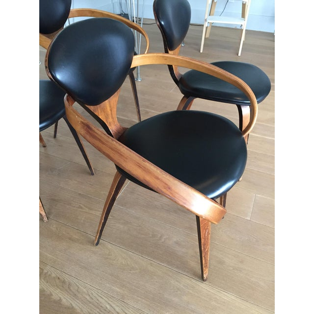 Norman Cherner Antique Chairs - Set of 4 - Image 6 of 11