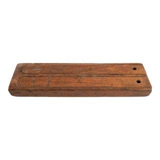 Handmade Rustic Wood Pencil Box