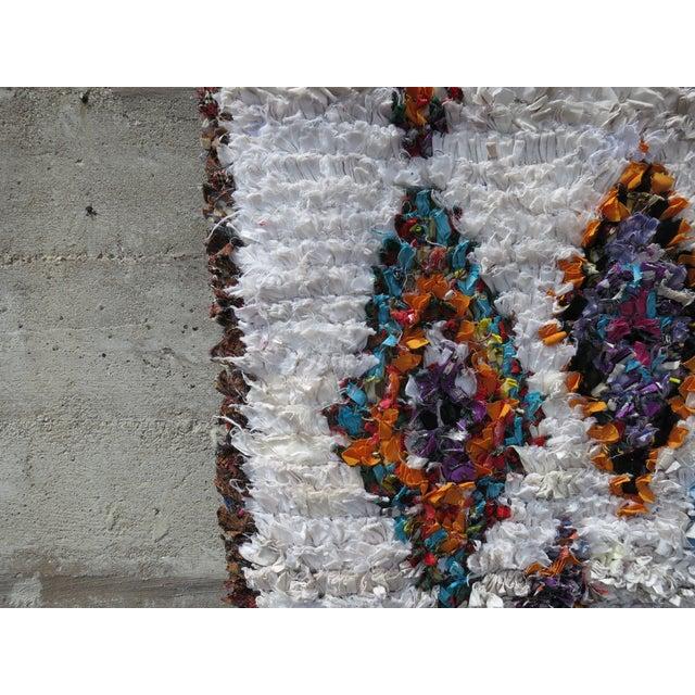 Moroccan Boucherouite Rug - 4′11″ × 9′6″ - Image 4 of 6