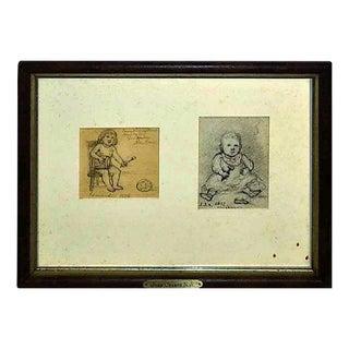 John Cranch Children Drawings