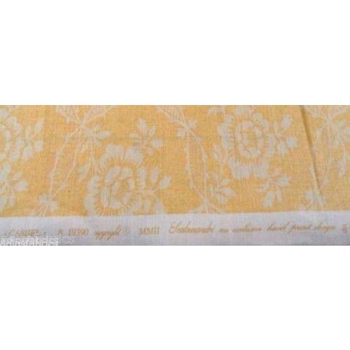 Image of Scalamandre Cashel Floral Linen Print Fabric