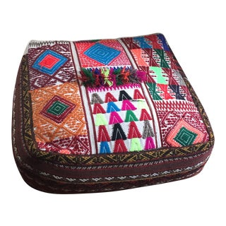 Down-Filled Afghani Wedding Pillows - A Pair