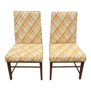 Thomasville Founders Parson Chairs - A Pair