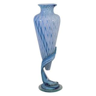 Murano Blown Glass Sculpture Floating Vase