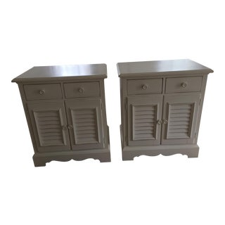 Seaside Retreat Coastal Nightstands - a Pair