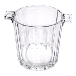 Vintage Petite Glass Ice Bucket
