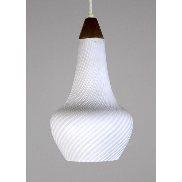 A Pair of Mid Century Pendant Lights - Image 7 of 8