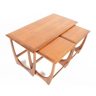 G Plan Astro Teak Nesting Tables - Set of 3