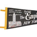 Image of 1950s Empire State Building Pennant
