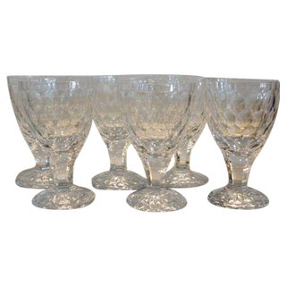 Orrefors Modernist Crystal Stemware - Set of 6