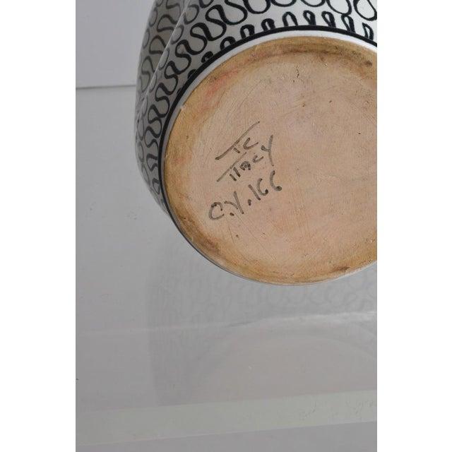 Italian Pottery Pinch Vase - Image 5 of 5