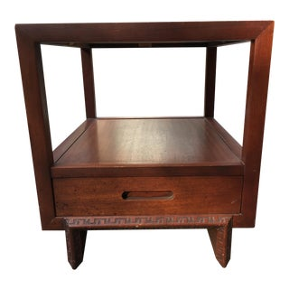 Heritage Henredon by Frank Lloyd Wright Side Table