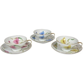 Rosenthal Cups & Saucers - Set of 3