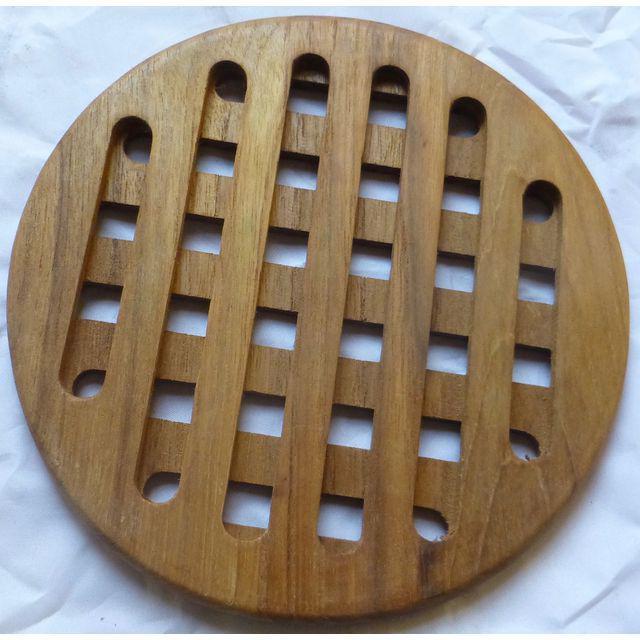 Mid-Century Danish Modern Teak Hot Plates - Set of 6 - Image 2 of 8