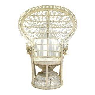 Rattan/Wicker Bohemian Peacock Chair