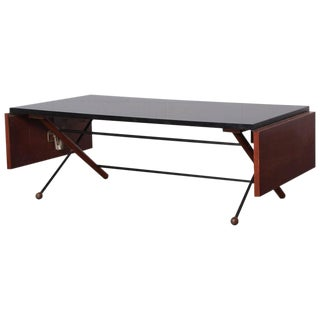 Greta Grossman Drop-Leaf Coffee Table