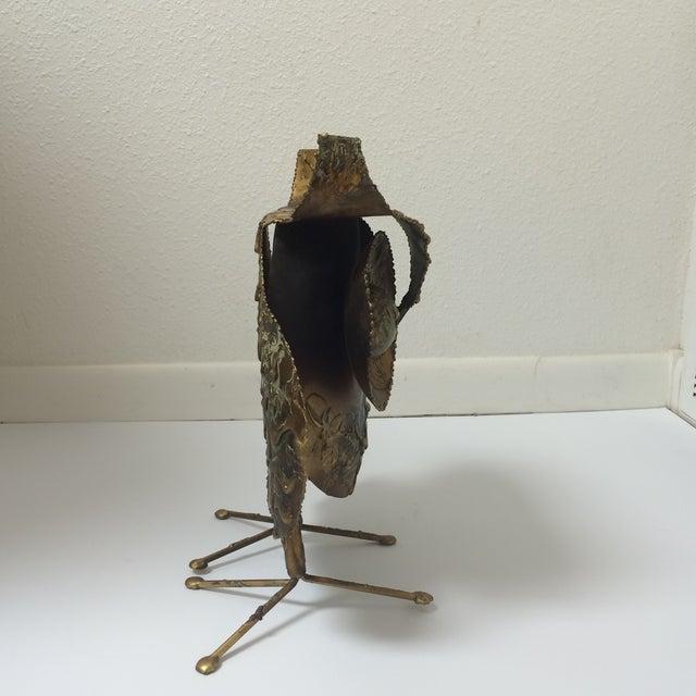 Curtis Jere Mid-Century Brutalist Owl Sculpture - Image 5 of 7