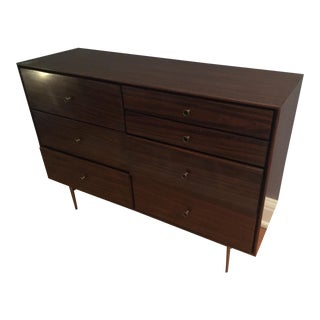 West Elm Mid Century Modern Walnut Dresser