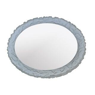 Vintage Mid-Century Backlit Mirror