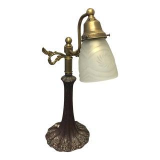 Victorian Bronze Lamp