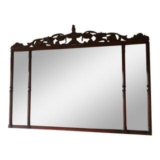 French Mahogany Mirror