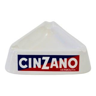 Italian Cinzano Ceramic Ashtray