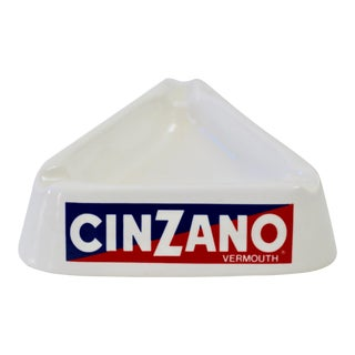 Italian Cinzano Ceramic Ashtray