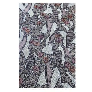 "Shibori Silk Table Cloth Indigo Blue 44"" x 144"""