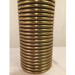 Image of Gabriella Crespi Style Brass Lamp