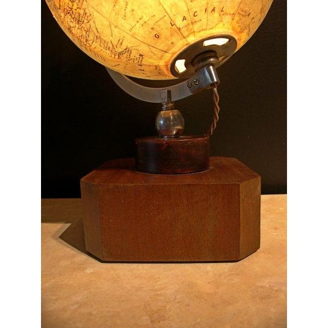Image of A Illuminated French Terrestial Globe