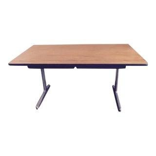 George Nelson for Herman Miller Mid-Century Walnut Desk