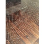 Image of New York City Map Etched Acrylic Coffee Table