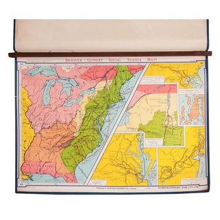 Vintage American Revolutionary War Map