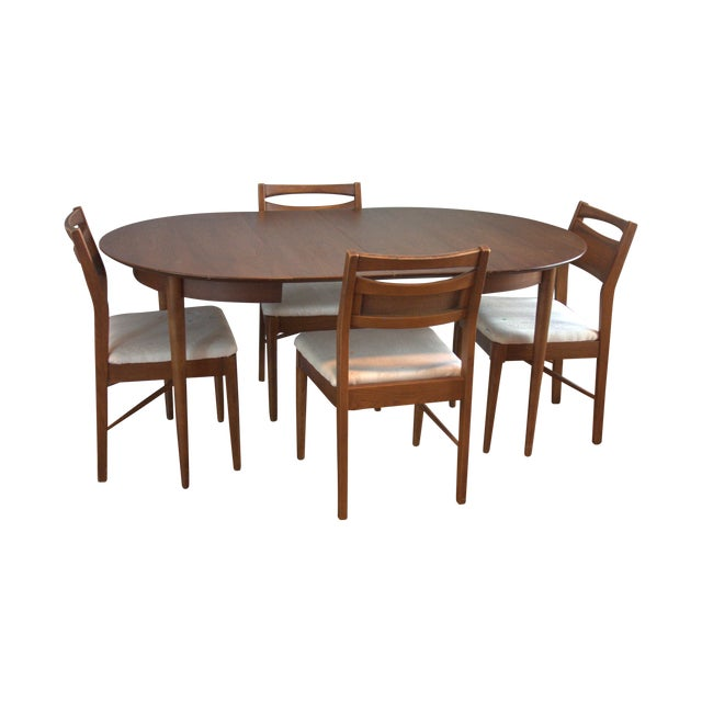 Image of American of Martinsville Mid-Century Dining Set