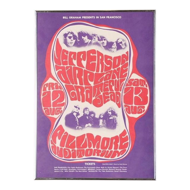 Vintage Grateful Dead in San Francisco Concert Poster - Image 1 of 7