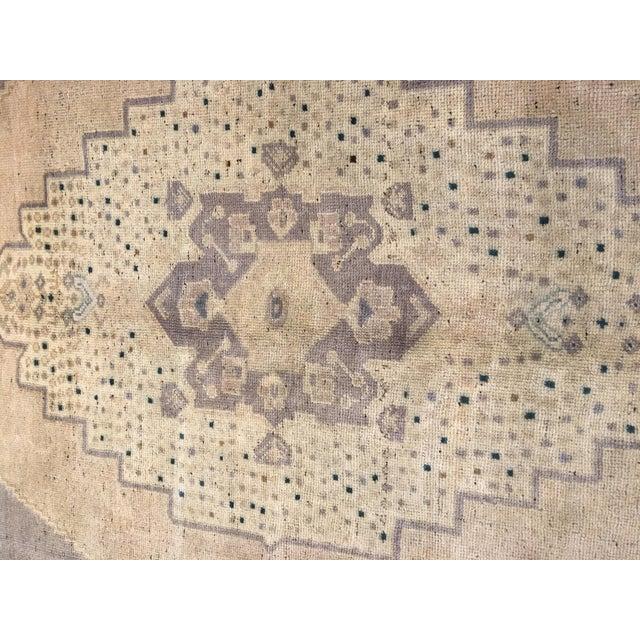 "Vintage Bellwether Rugs Turkish Oushak Rug - 5'6""x9'11"" - Image 5 of 9"