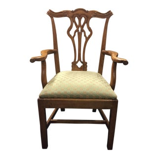 Country Chippendale Armchair