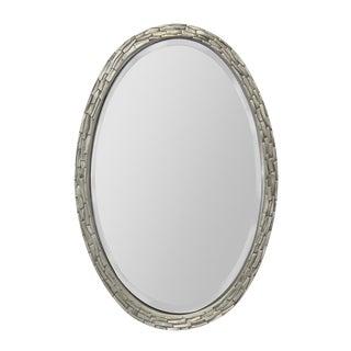 Modern Silver Wall Mirror