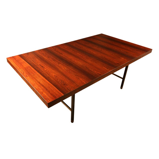 Harvey Probber Brazilian Rosewood Dining Table - Image 2 of 9