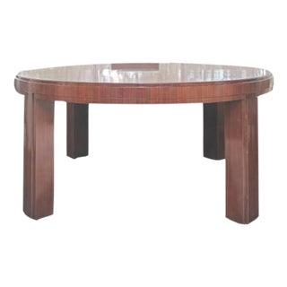 Ralph Lauren Mahagony Round Dining Table