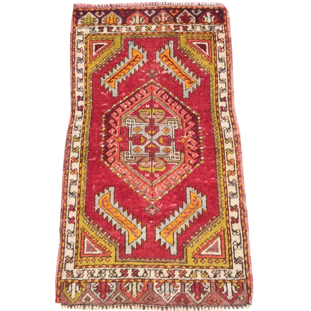 "Anatolian Persian Rug - 1'7"" x 2'11"" - Image 1 of 10"